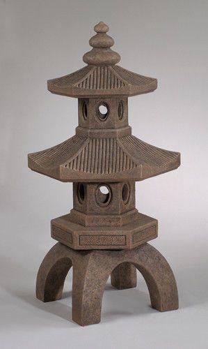 Terrarium Miniature Pagoda Google Search Japanese Stone Lanterns Garden Statues Pagoda