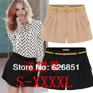 2014 new summer women's hot pants s-xxl,xxxl, 4xl super plus size