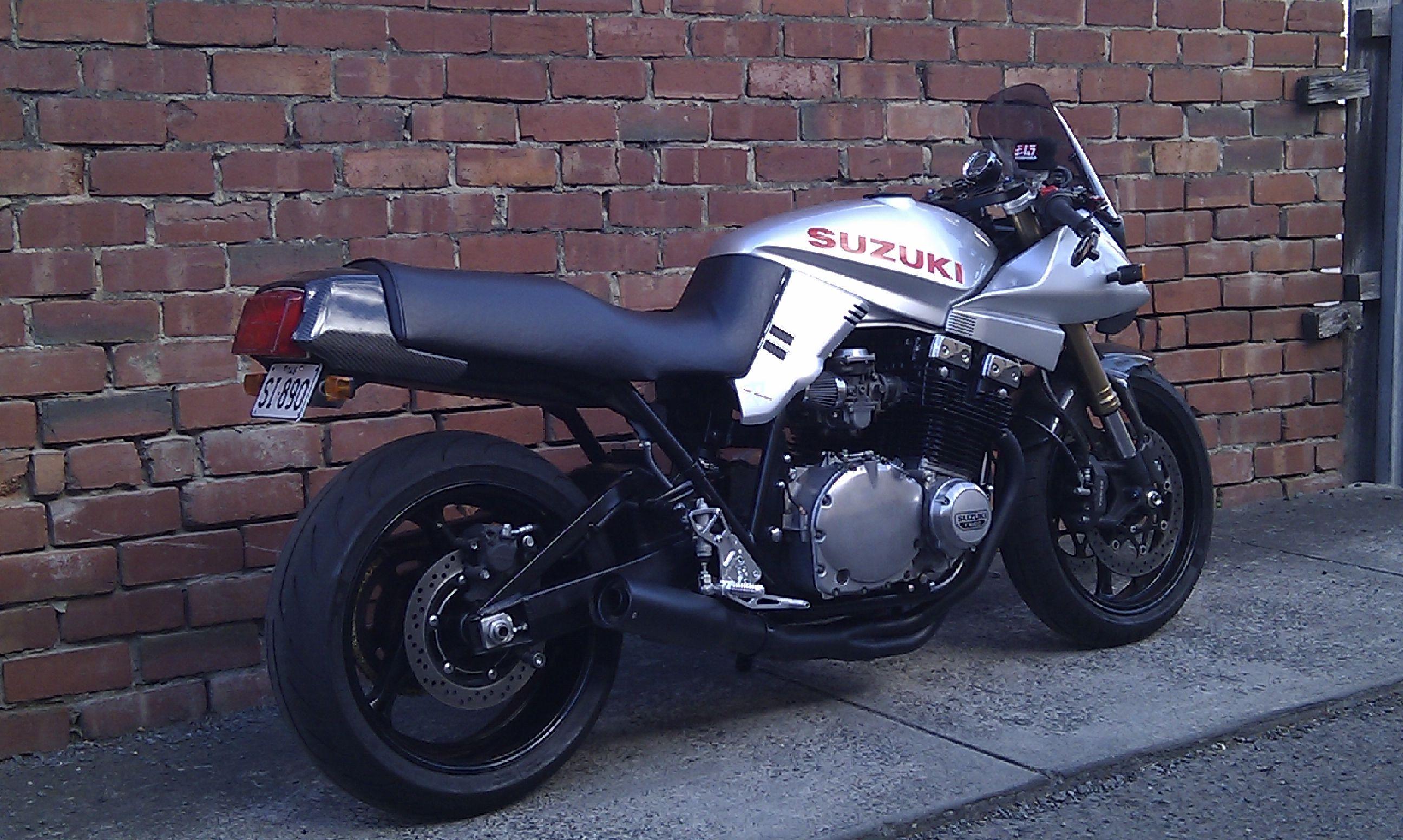 my modified 1981 katana 1100 suzuki katana suzuki