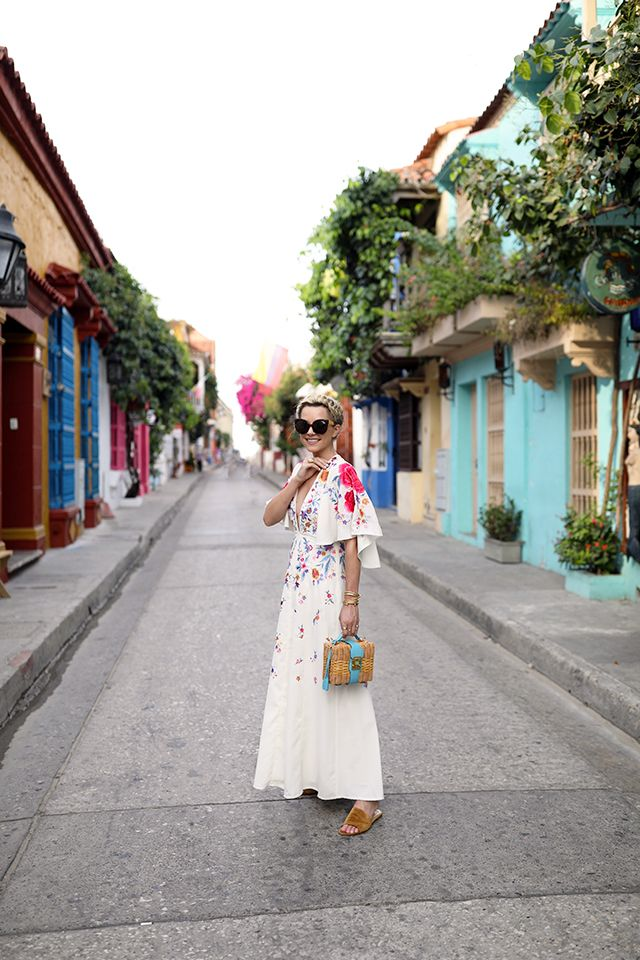 COLORS OF CARTAGENA COLOMBIA