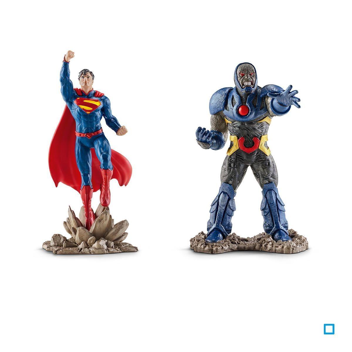 Schleich DC Comics scenery pack Batman vs superman super héros figurines personnage