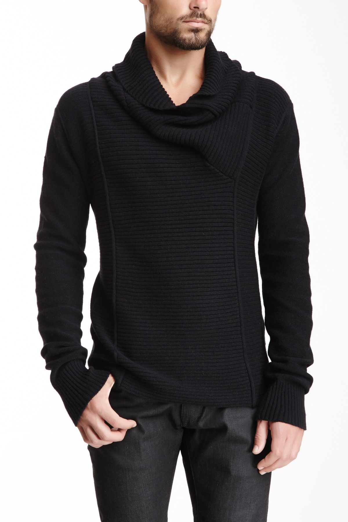 i.am Sportswear Cowl Neck Sweater by i.am Sportswear on ...