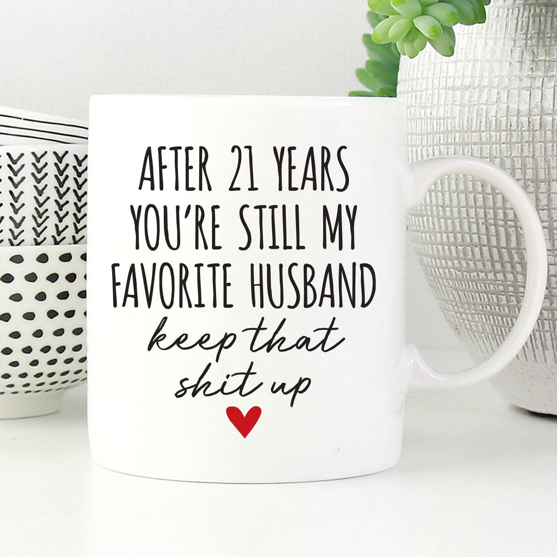 21 year anniversary gift for husband 21st anniversary