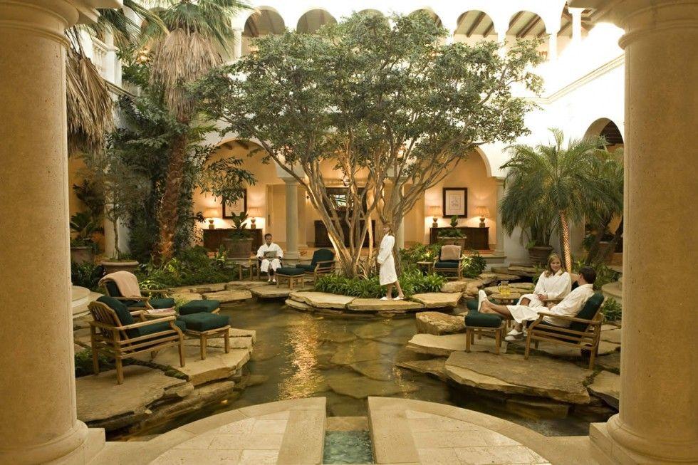 Sea Island Spa garden atrium | Heartland Visual Research ...