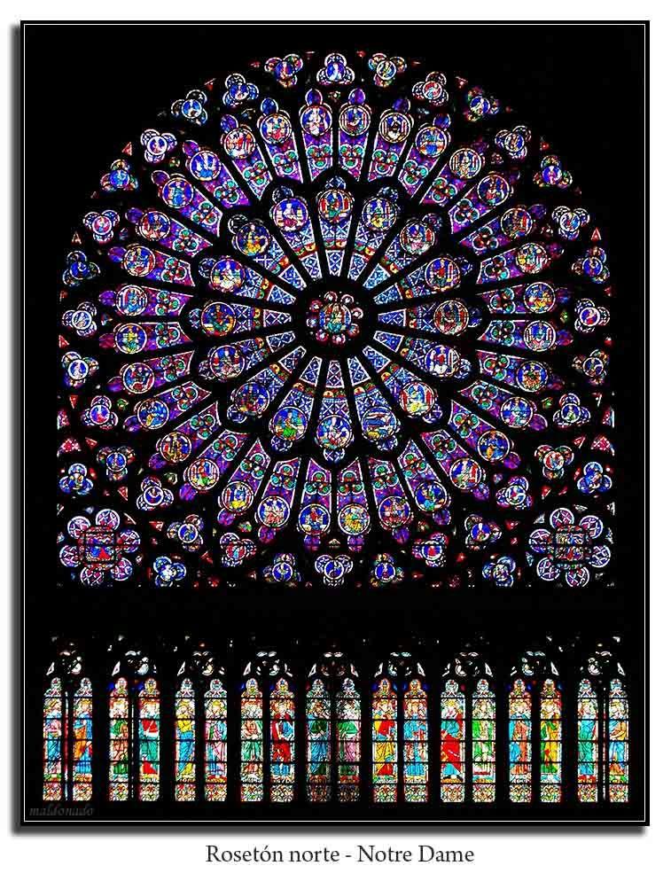 Notre dame de paris vitrales vitraux colorier yahoo image search results ap l 39 esthetique - Vitraux a colorier ...
