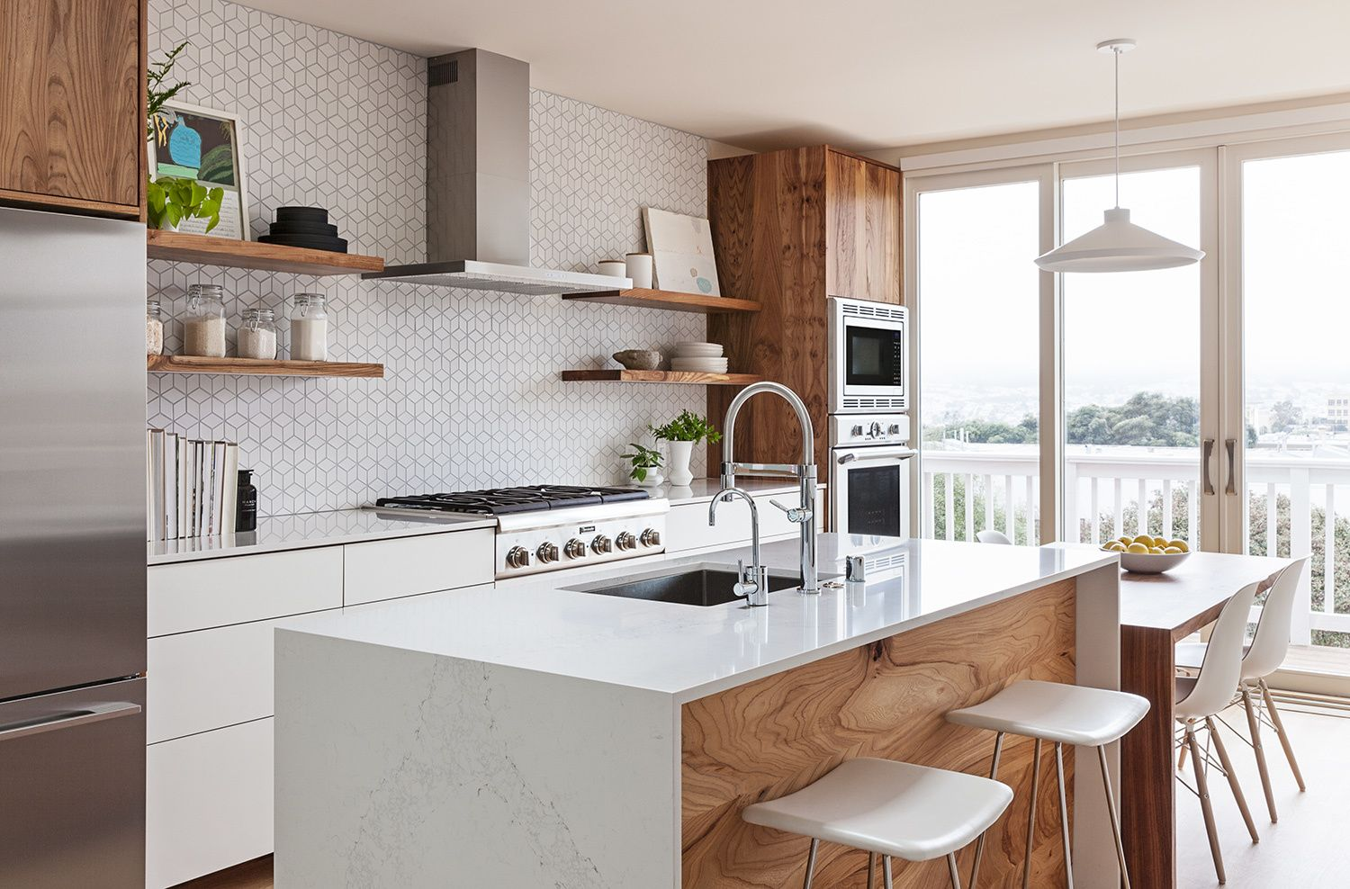 Los palmos by svk interior design shelves storage and kitchens