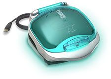 George Foreman iGrill. Plugs into a usb outlet on your computer. Cook all kinds of delights (and grilled cheese!) with this beauty.