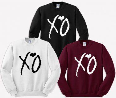 00bd11bf5e6 XO The Weeknd Sweater Black