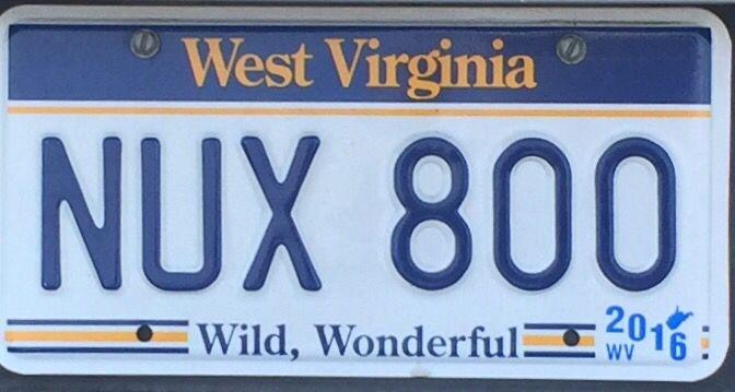 West Virginia WILD WONDERFUL License Plate