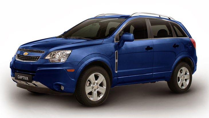 Chevrolet Captiva é na Rumo Norte - Azul Berlin (Cor Metálica) http://rumonortegm.blogspot.com/2013/12/cores-do-chevrolet-captiva.html