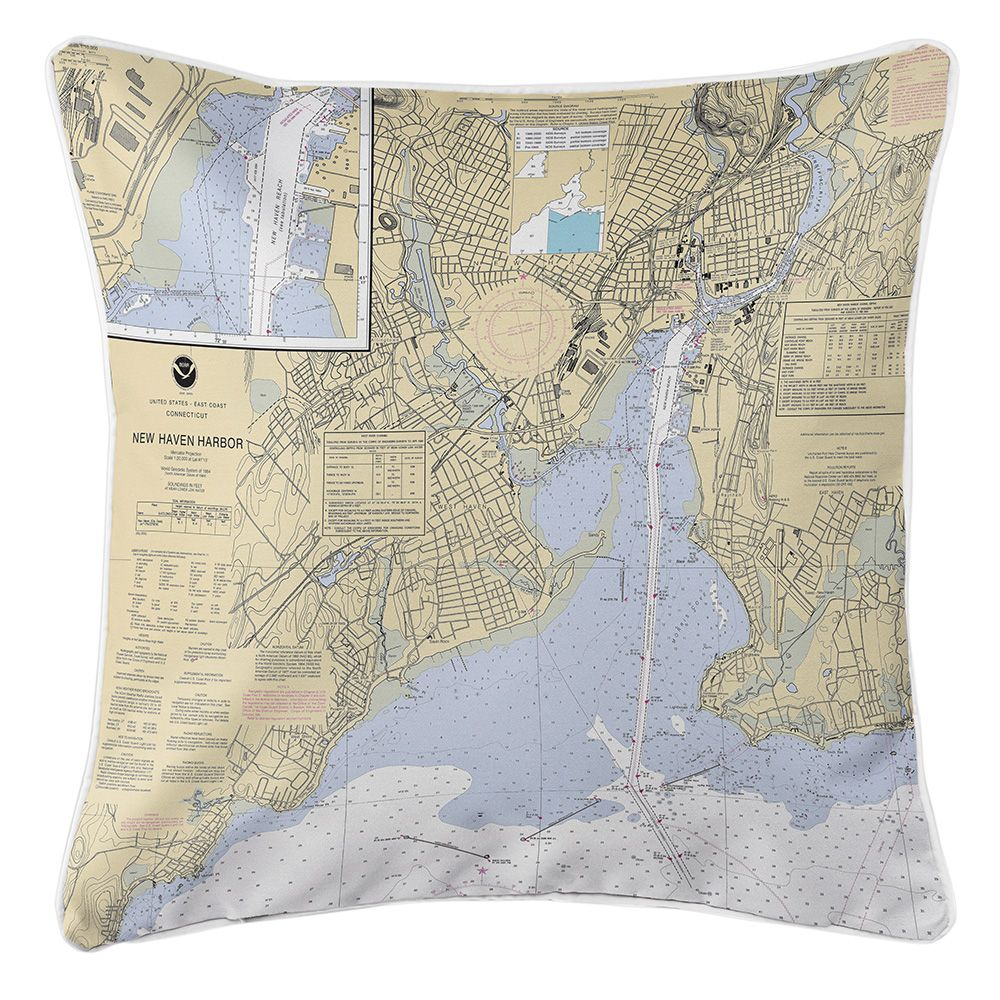 Ct new haven ct nautical chart pillow nautical chart pillows ct new haven ct nautical chart pillow nvjuhfo Gallery