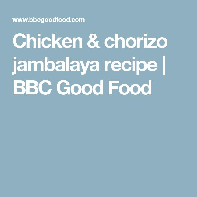 Chicken chorizo jambalaya recipe bbc good food favourite menu dinners chicken chorizo jambalaya recipe bbc good food forumfinder Choice Image