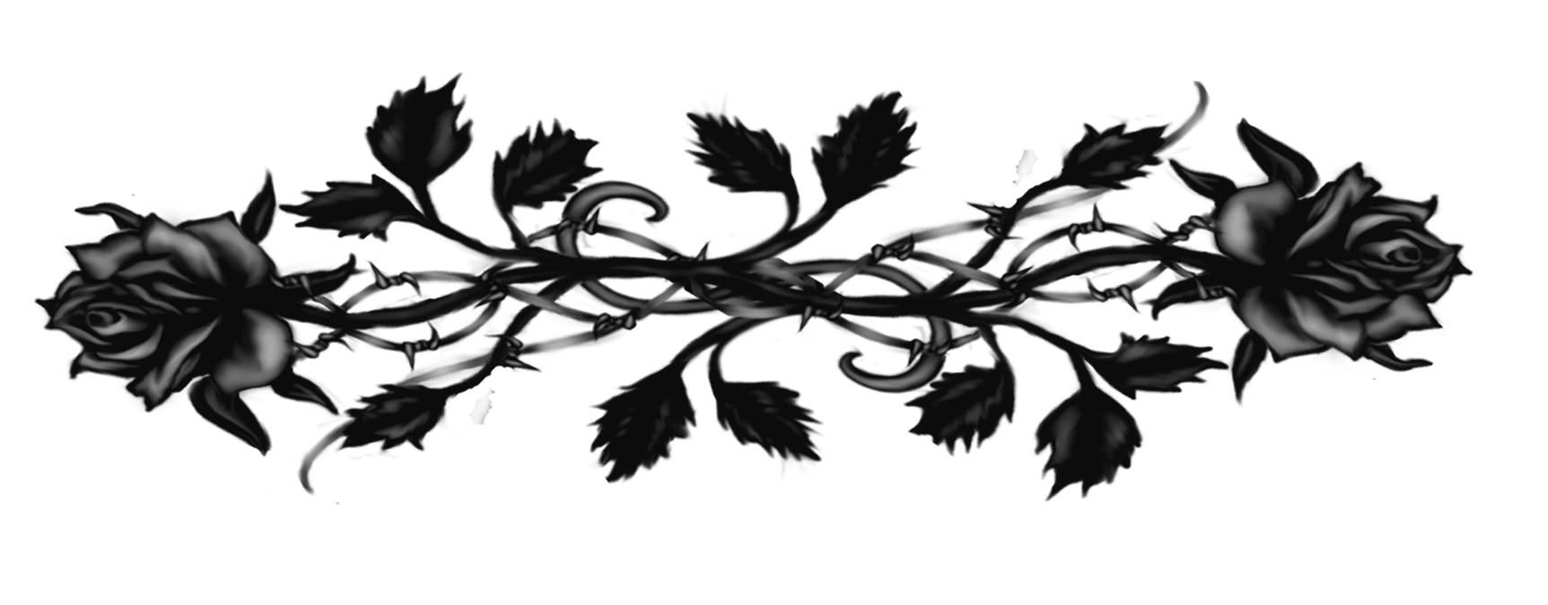 Black Rose Gothic Tattoo Design Tattoobite Com Gothic Tattoo Gothic Rose Rose Tattoos