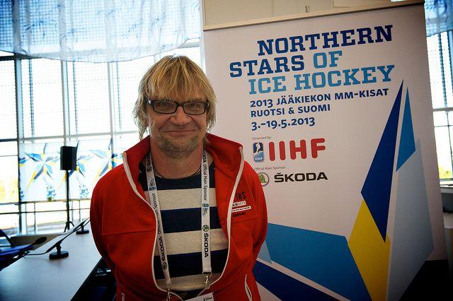 #Antero #Mertaranta, Finnish commentator   #jääkiekon mm-kisat, #leijonat, #suomi, #Helsinki, #iihfworlds 2013, #iihfworlds, #world championship, #ice hockey, #hartwall arena, #globen,#jääkiekko, #jääkiekon mm-kisat, #mm-kisat, #IIHF WC2013 Helsinki, #iihf