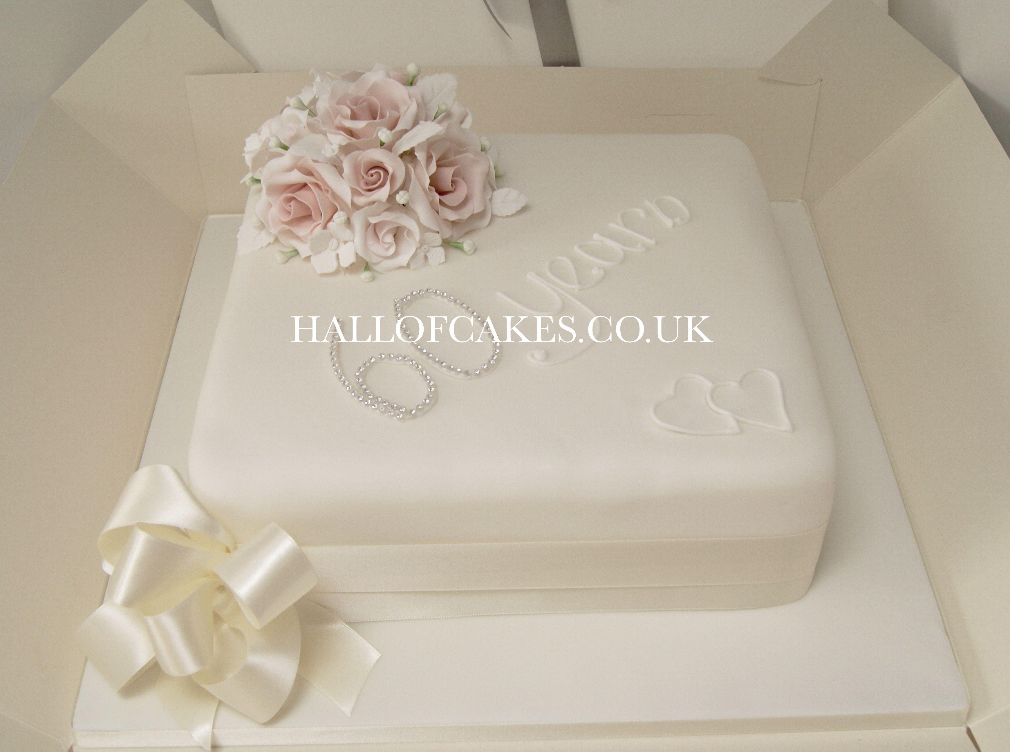 Diamond Anniversary Cake by Hall of Cakes | Amazing cakes ...