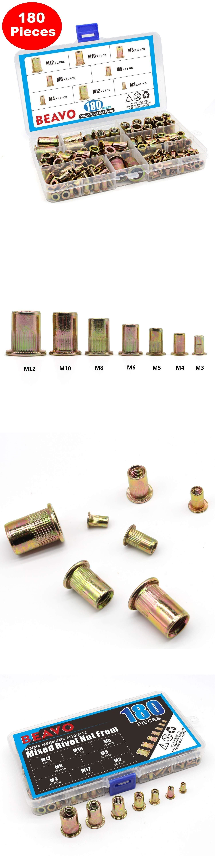 Other Hand Tools 303: Rivet Nut Kit Riveter Tool Gun Rivnut