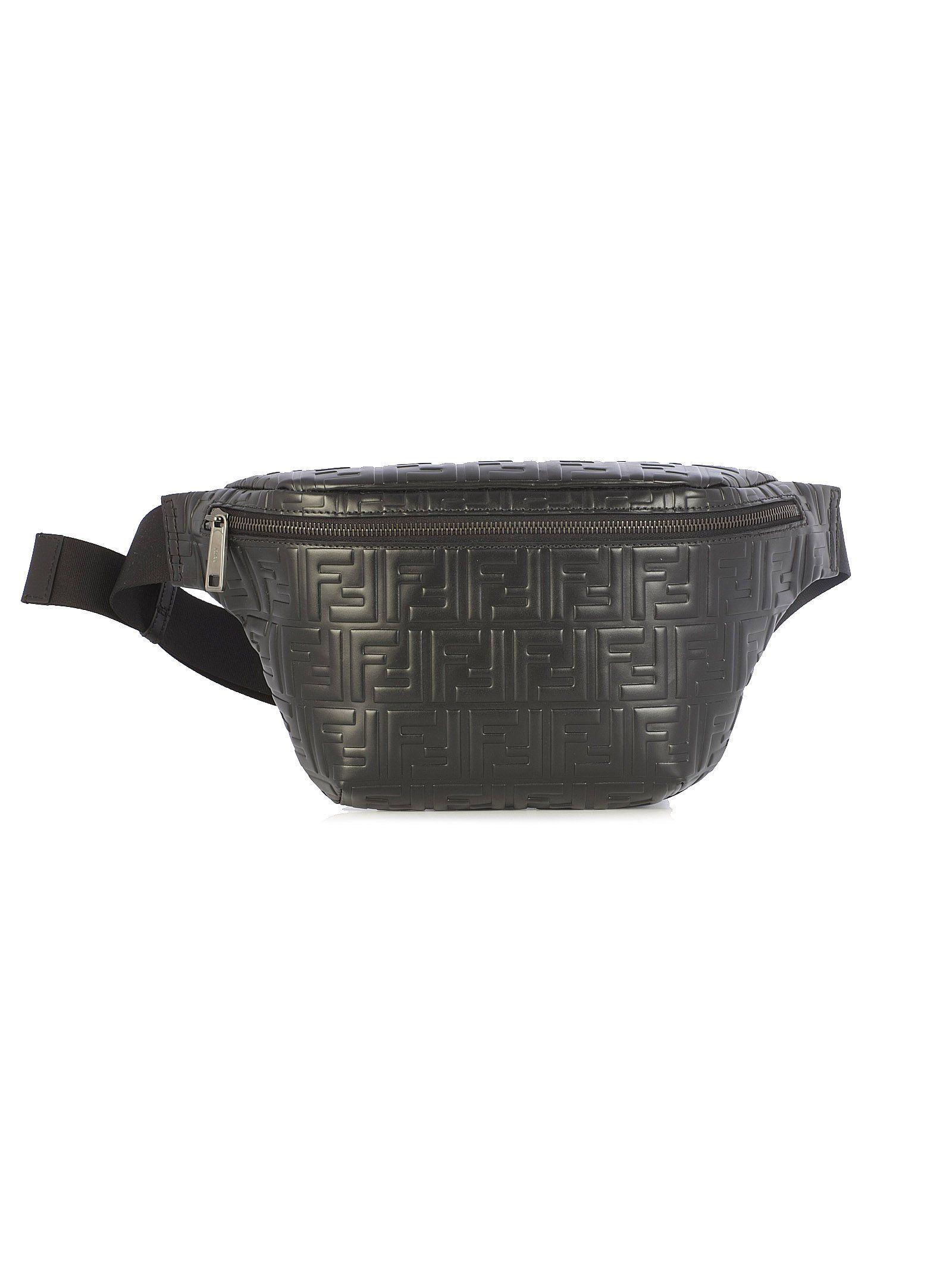 bd7fb96e48 FENDI FENDI MONOGRAM BELT BAG. #fendi #bags #leather #belt bags ...