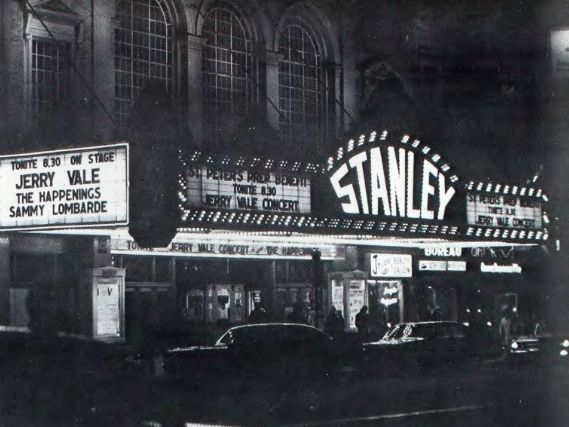 Stanley Theater In Jersey City Nj 1969 Jersey City City Hudson County