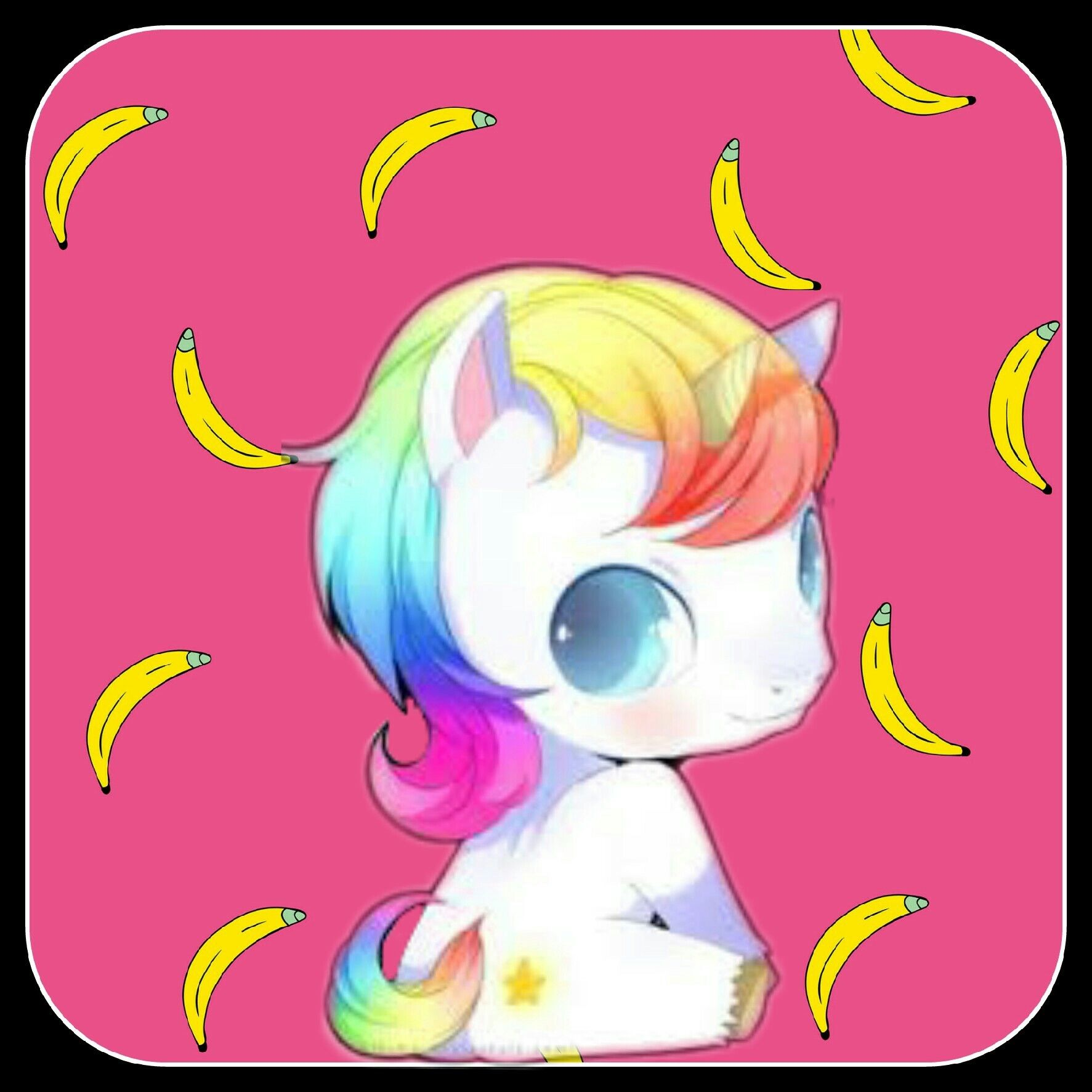 Confira o que eu fiz com picsart cute unicorn anime pics