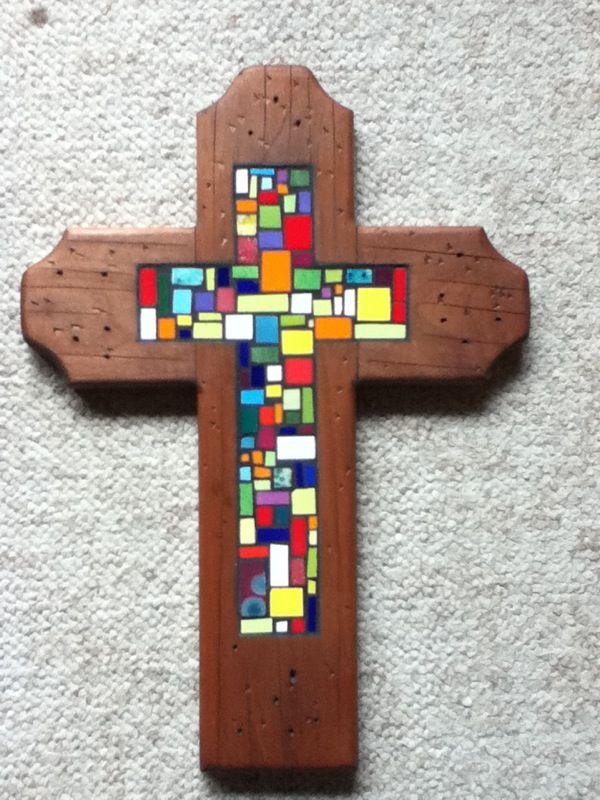Cruz de mosaico
