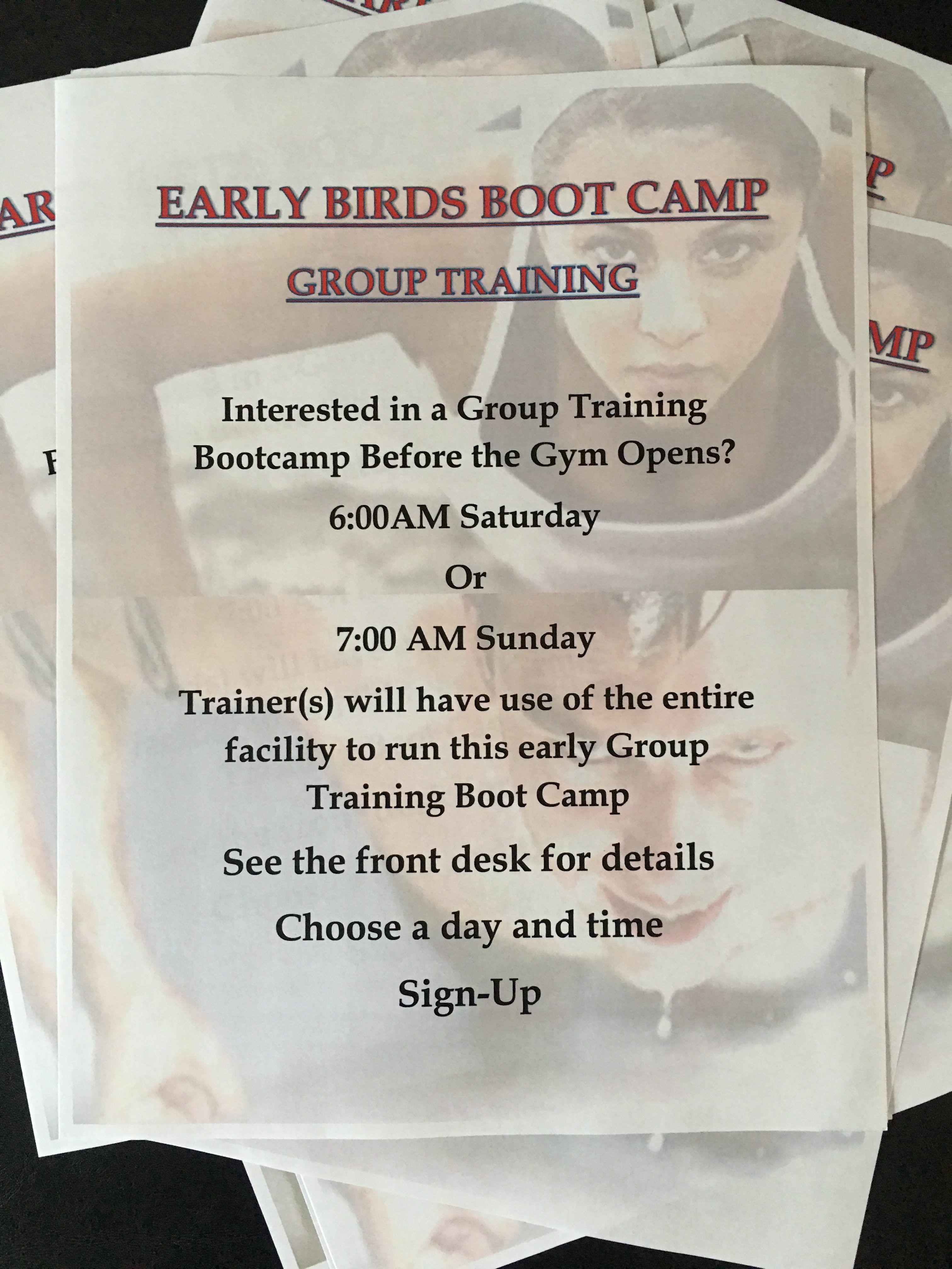 Boot Camp In Palm Beach Gardens