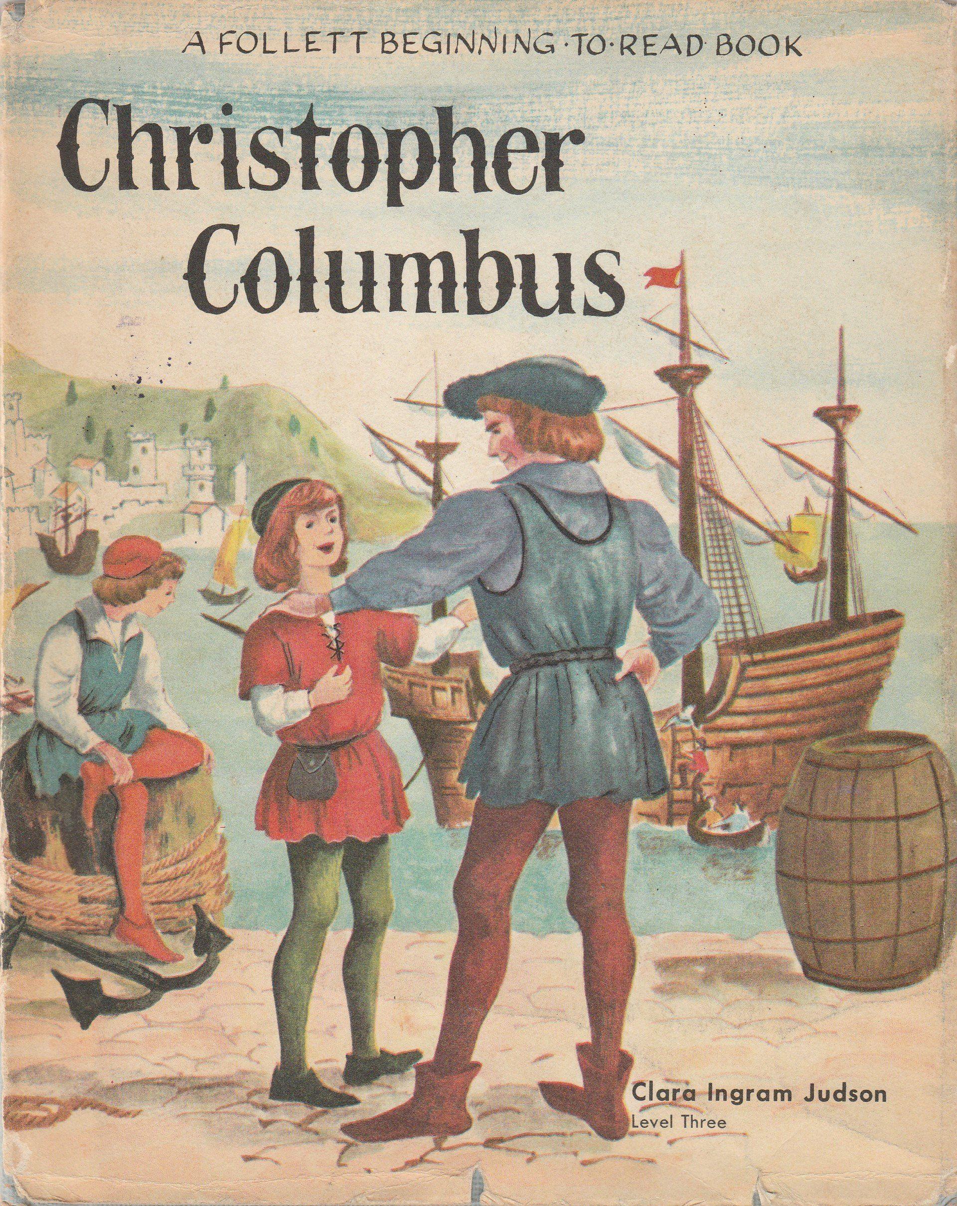 Christopher Columbus By Clara Ingram Judson Vintage