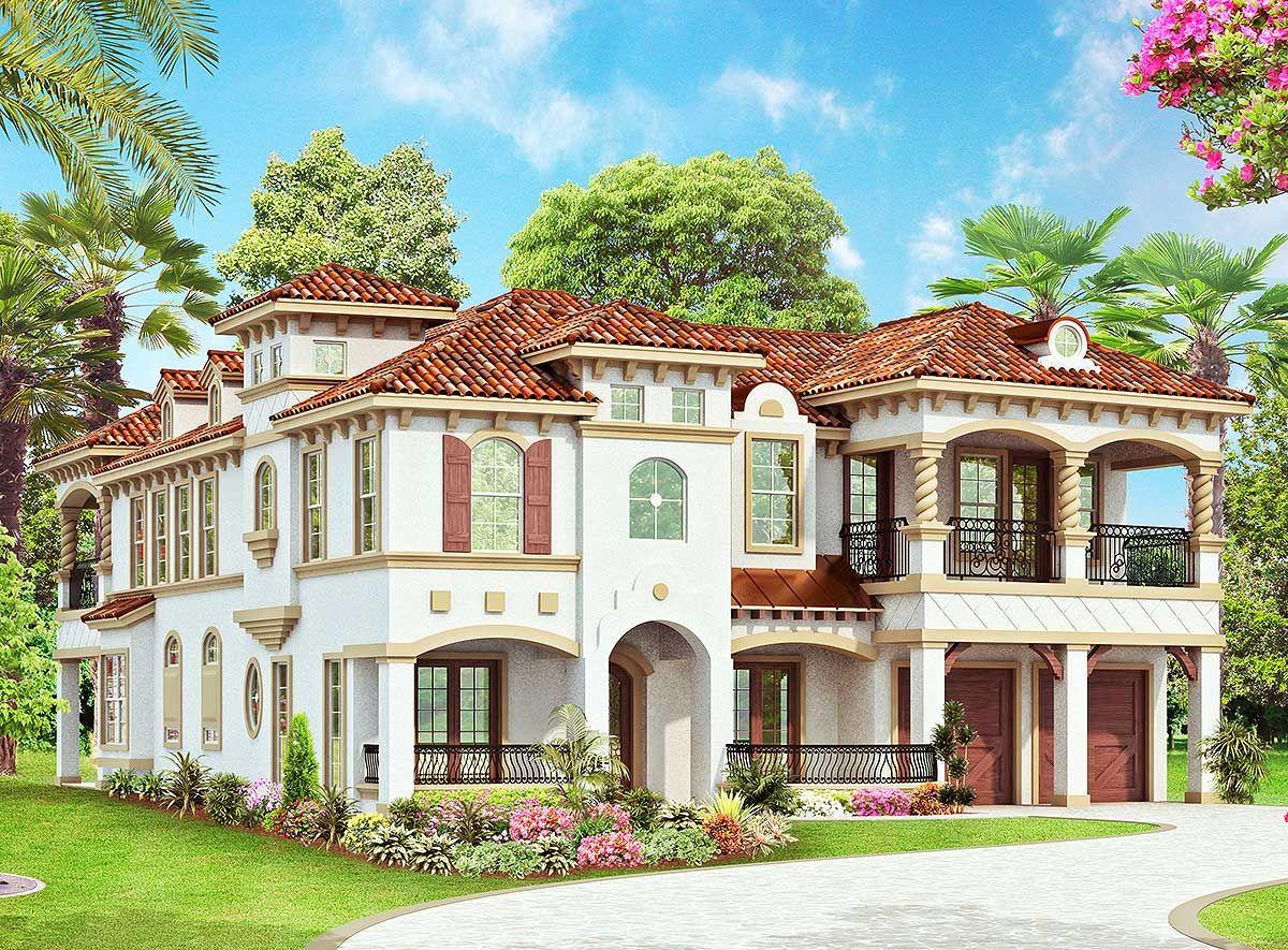 Plan 36351tx Dream Master Closet Dream Master Monster House Plans New House Plans