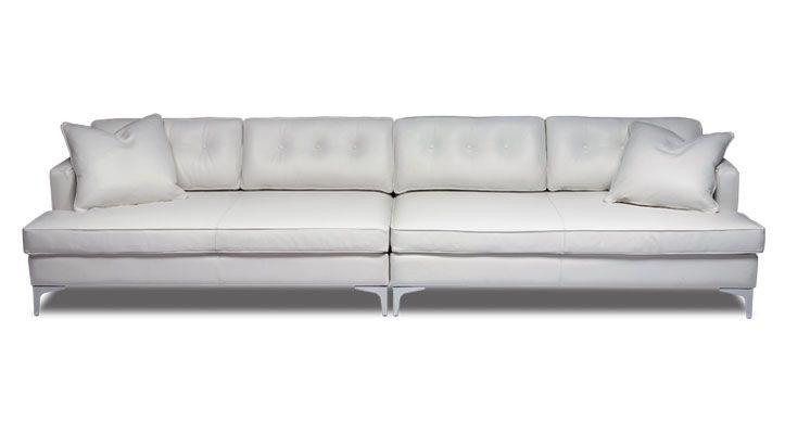 Comfy Proportions Home Sweet Home Sofa Long Sofa