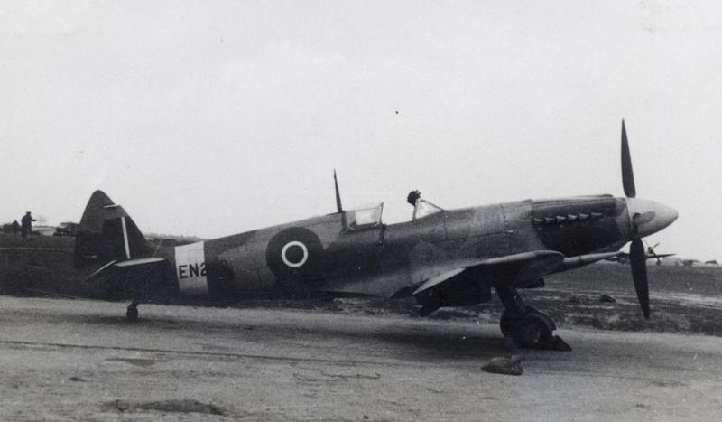 A Spitfire Mark XII (serial number EN238) of No  41 Squadron, RAF