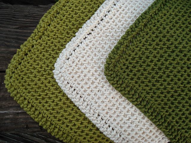 Ravelry: Blondies\' Chinese Waves Dishcloths - made on the diagonal ...