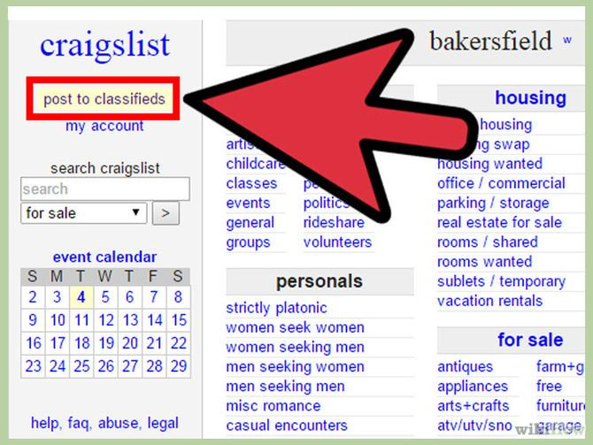 Post Ads to Craigslist | wikiHow to Survive Technology