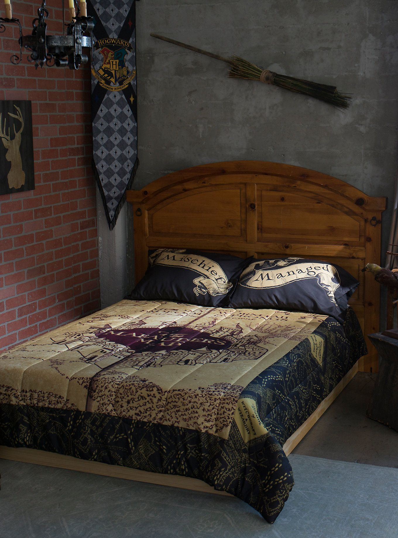 Harry Potter Bedding Set Harry Potter Room Decor Harry Potter