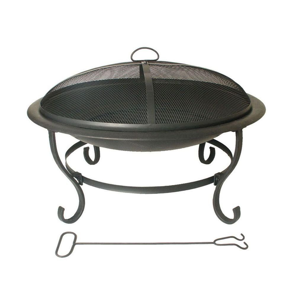 Patio Wrought Iron Fire Pit Ideas For The House - Wrought iron fire pit table