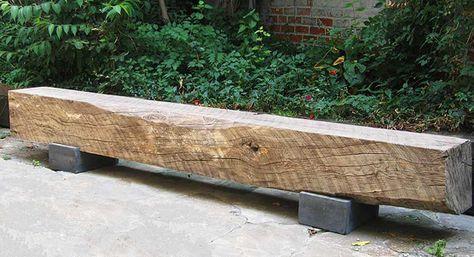 Gartenbank selber bauen beton  50 coole Garten Ideen für Gartenbank selber bauen aus holz und ...