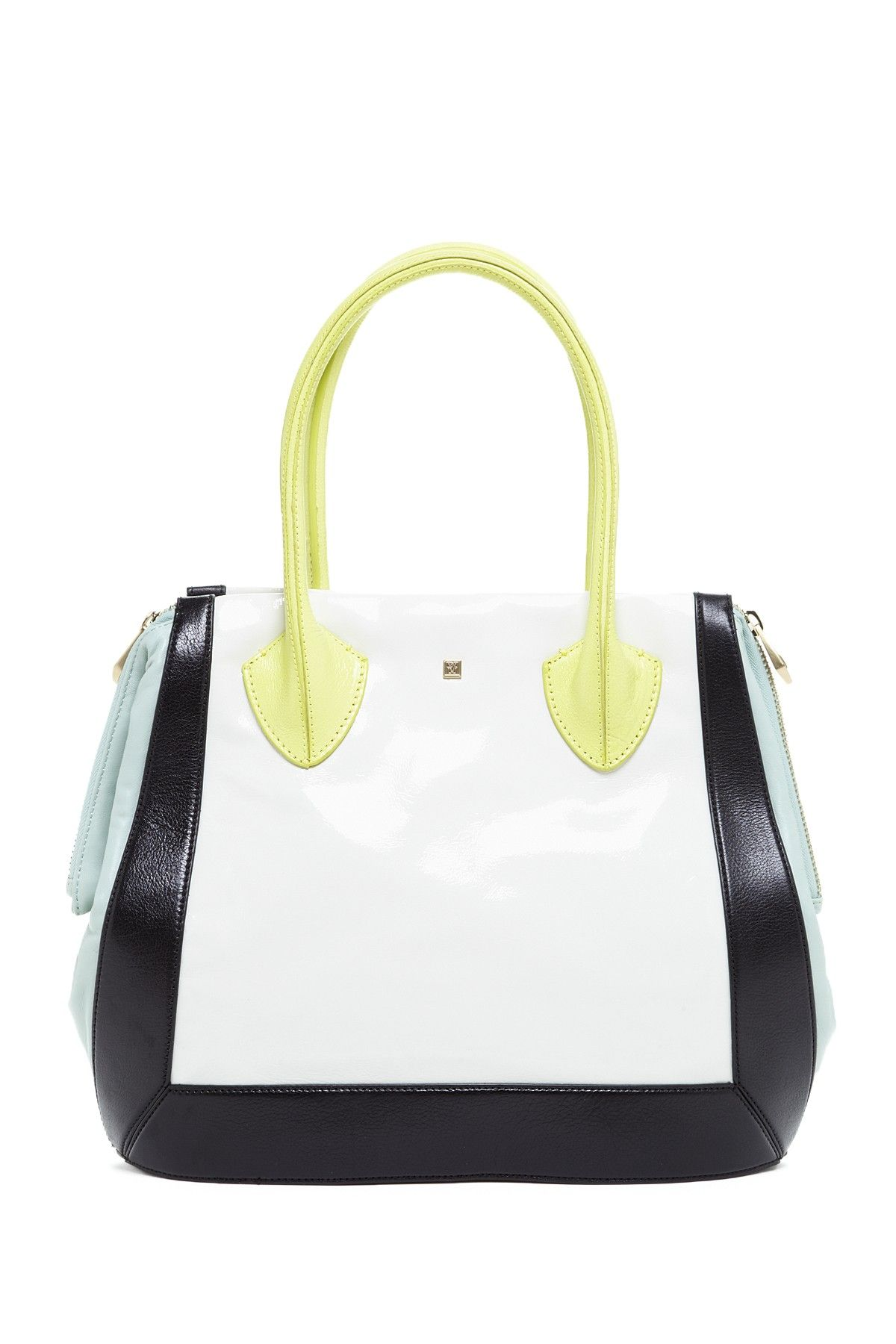 Handbag Hysteria  Pour La Victoire Palermo Tote - Love how this resembles a bowling ball bag.