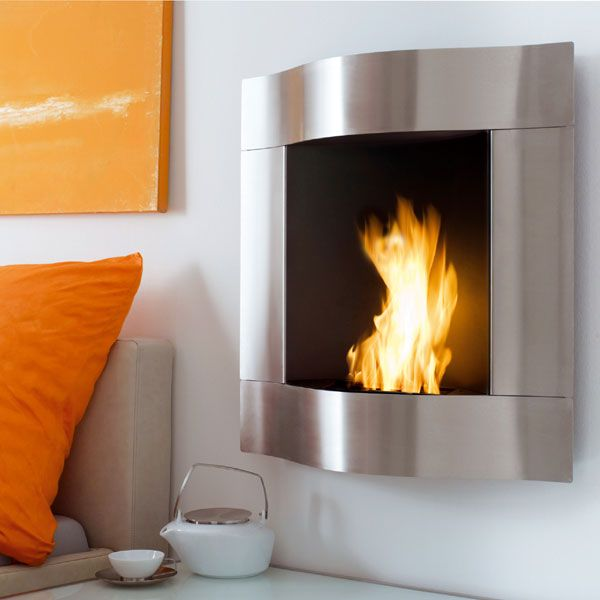 There Are Special, Convenient To Use Gelled Alcohol Fuel Fireplaces. They  Are