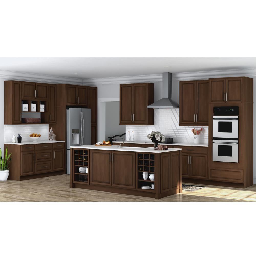 Hampton bay hampton assembled 27x30x12 in wall kitchen