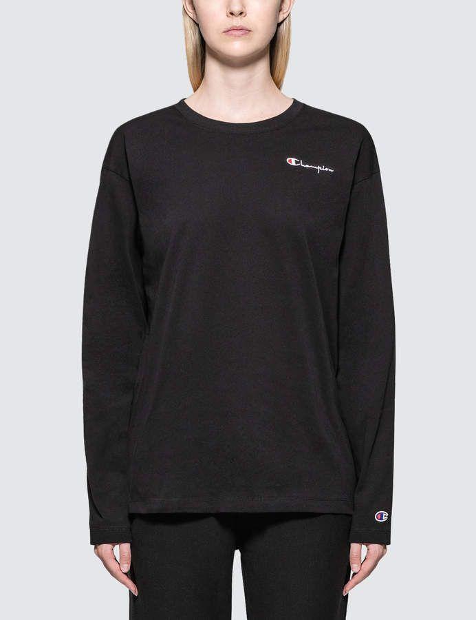 828c4269 Small Logo Long Sleeve T-shirt | Products | T shirt, Adidas jacket ...