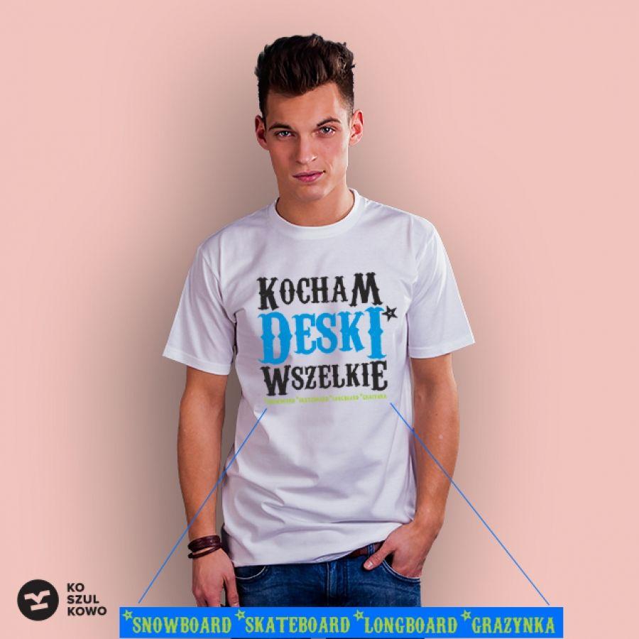 3338b5ea2 Kocham deski   koszulki   Koszulki