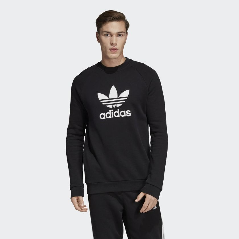 ADIDAS ORIGINALS TREFOIL WARM UP CREW Sweatshirt herren