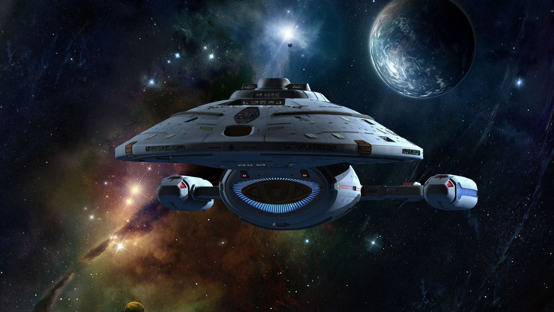 Star trek voyager spacecraft -