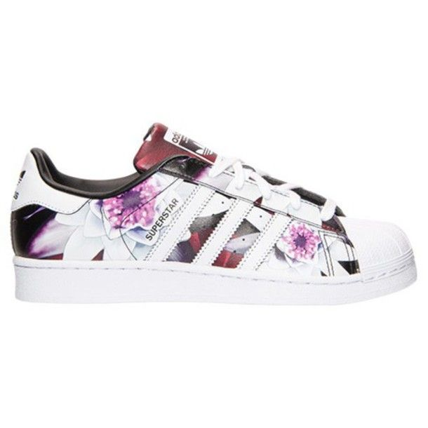 Adidas Superstar Womens Floral Print Lotus Shinpei Naito Hot