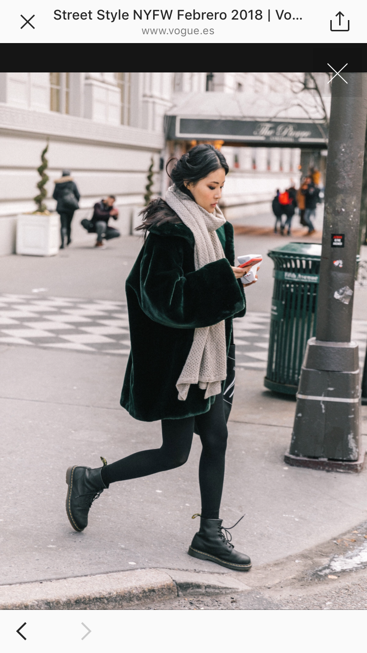 Dr. Martens outfit inspiration // #winterfashion # ...