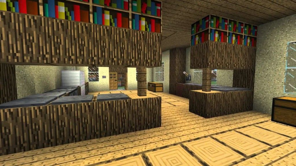 Kitchen Archives Hovgallery Minecraft Interior Design Minecraft Designs Minecraft House Designs