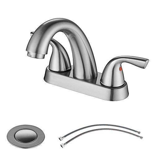 Cheap Parlos 2-Handle Bathroom Sink Faucet with Drain Assembly and ...