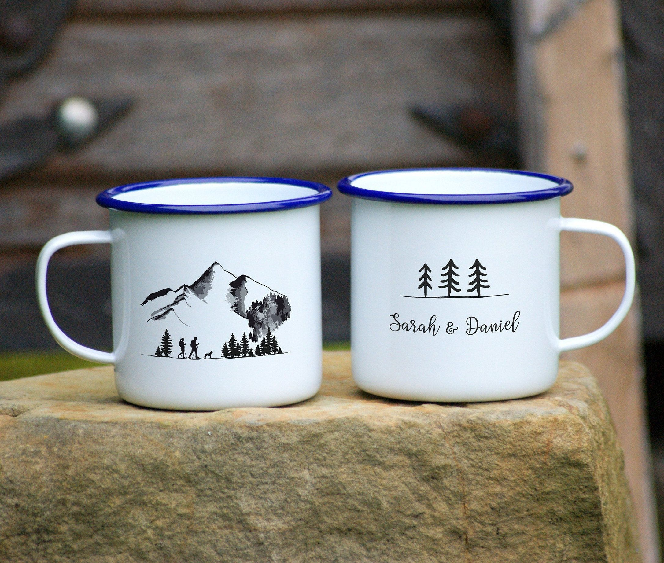 Camping Cup Travel Gift Personalized Camping Gift Custom Gift for Campers Camping Tumbler Traveller Gift Camping Coffee Mug