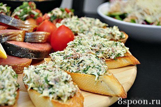 бутерброды рецепты с фото на праздничный стол