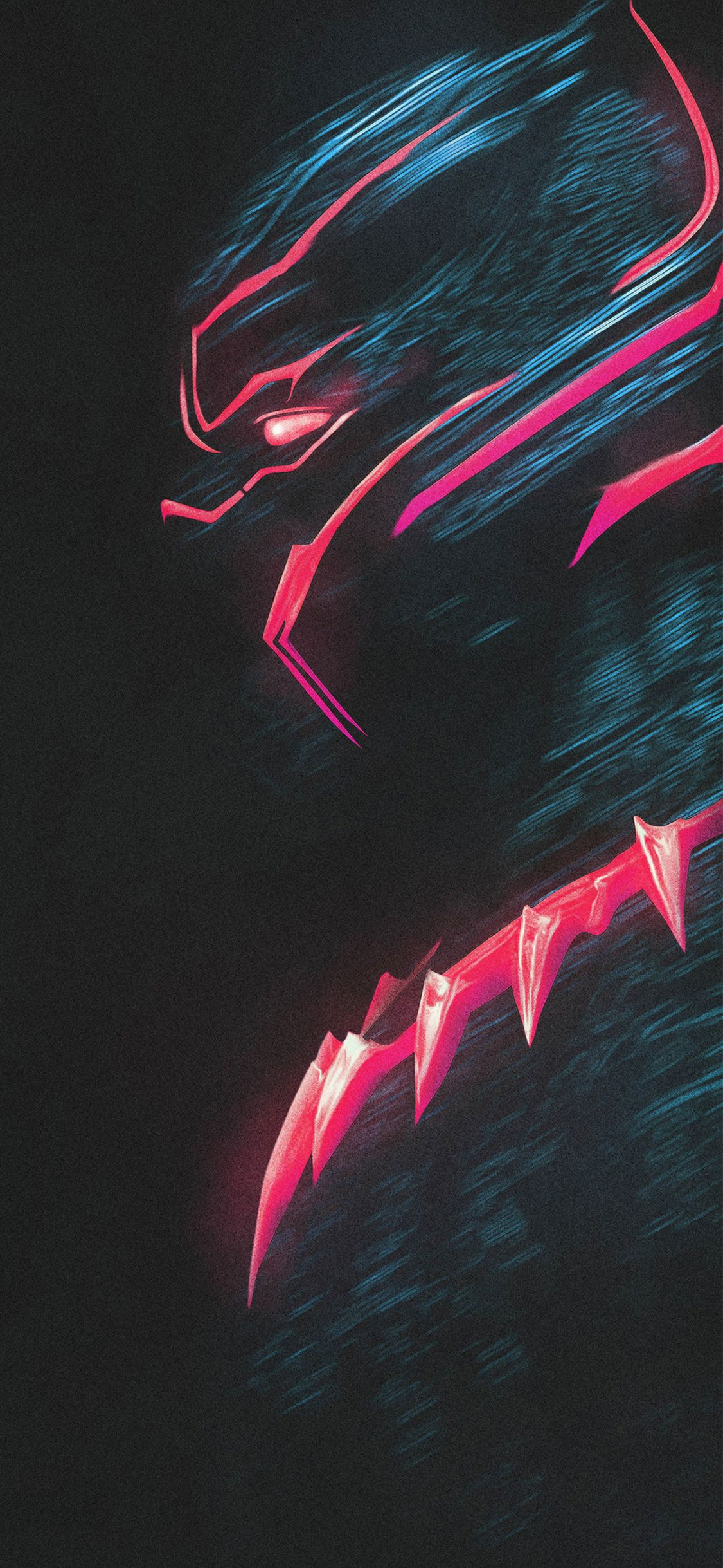 Black Panther Wallpaper 4k Iphone 3d Wallpapers Superhero Wallpaper Black Panther Black Panther Marvel