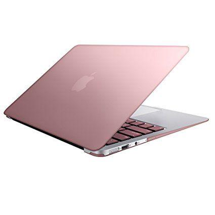 Macbook Air 13 Shell Riverpanda Lightweight Ultra Slim Metallic Coated Hard Case Cover For Mac Rose Gold Macbook Air Macbook Air Case 13 Inch Macbook Air Case