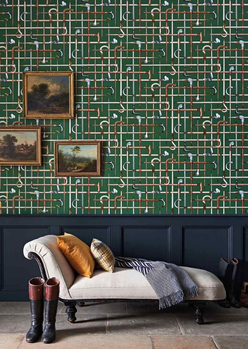 Bastoni Wallpaper Fornasetti Senza Tempo Cole Son